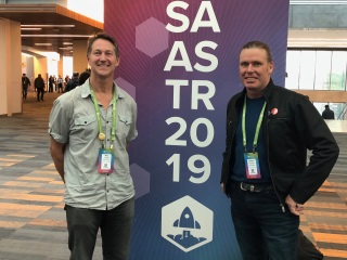 Paul and Graham at SaaStr Annual 2019