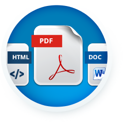 Document Generation Software In Multiple Formats - Docmosis